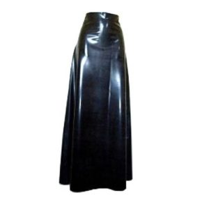 Latex long skirt