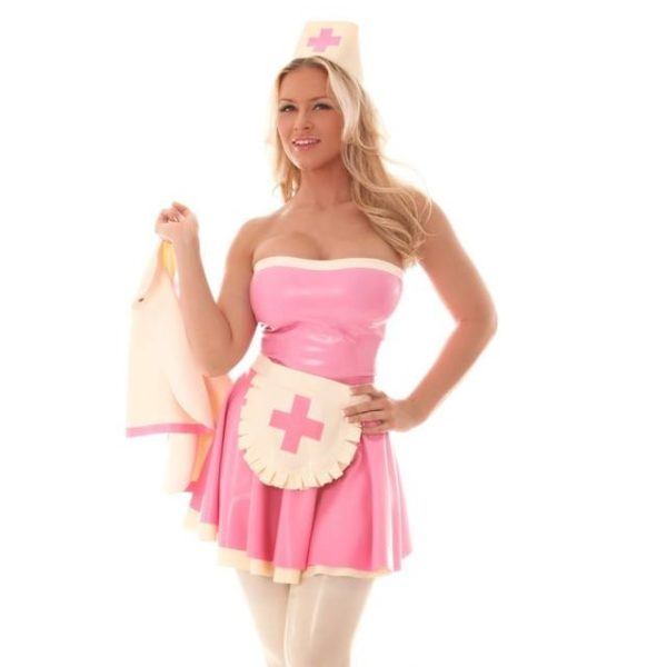 Latex naughty nurse