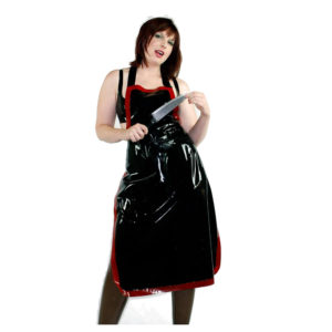 latex rubber apron
