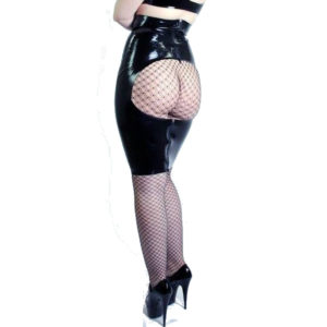 latex spanking skirt