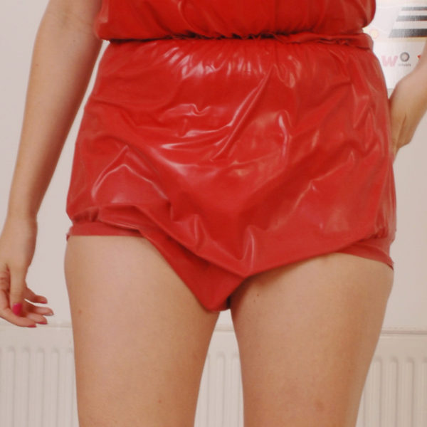 Latex adult Baby Pants