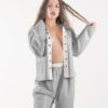 latex long pyjamas