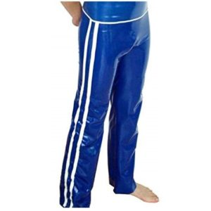 latex mens trousers