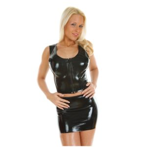 latex rubber outfit